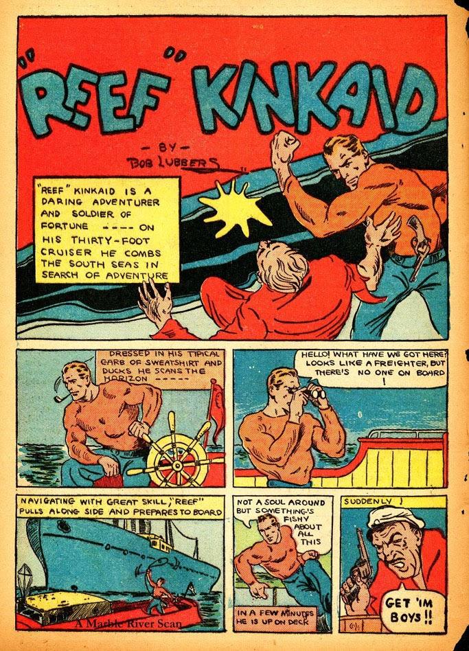 Read online Amazing Man Comics comic -  Issue #12 - 52
