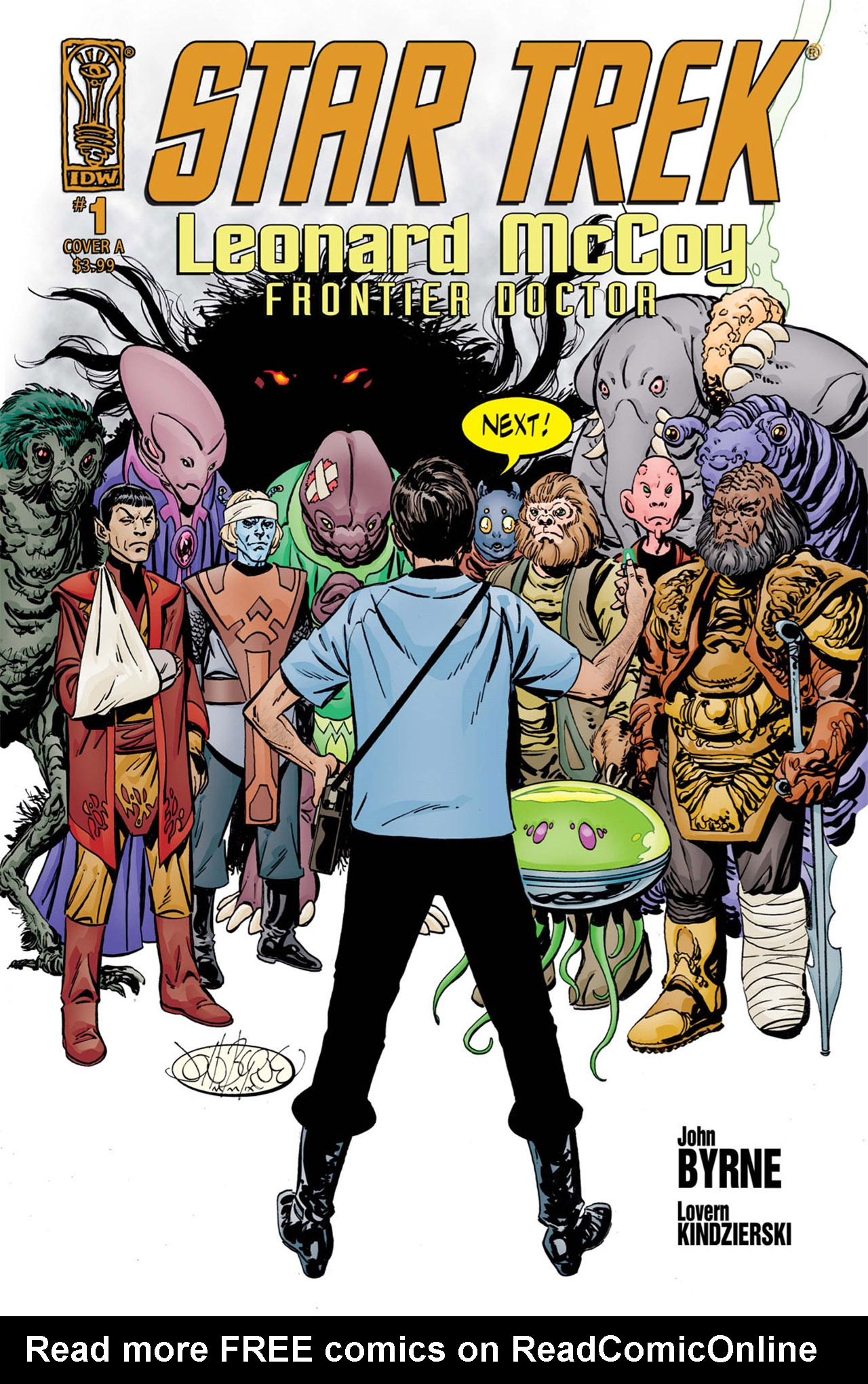 Read online Star Trek: Leonard McCoy, Frontier Doctor comic -  Issue #1 - 1