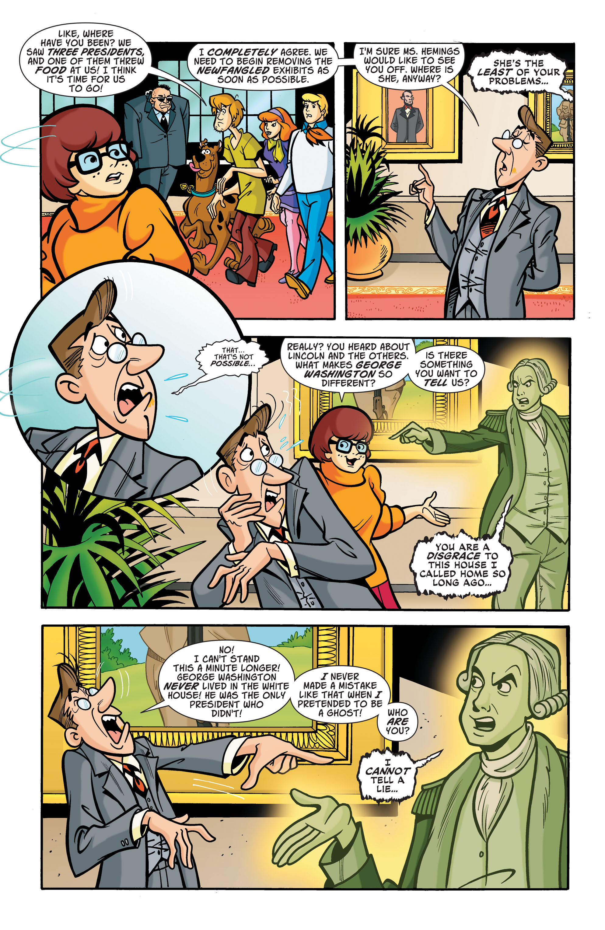 Read online Scooby-Doo: Where Are You? comic -  Issue #66 - 9