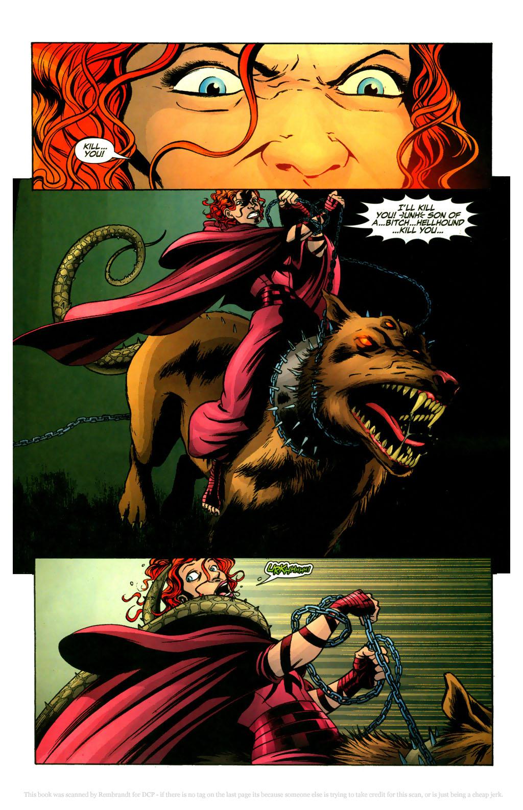Read online Fallen Angel (2003) comic -  Issue #9 - 15
