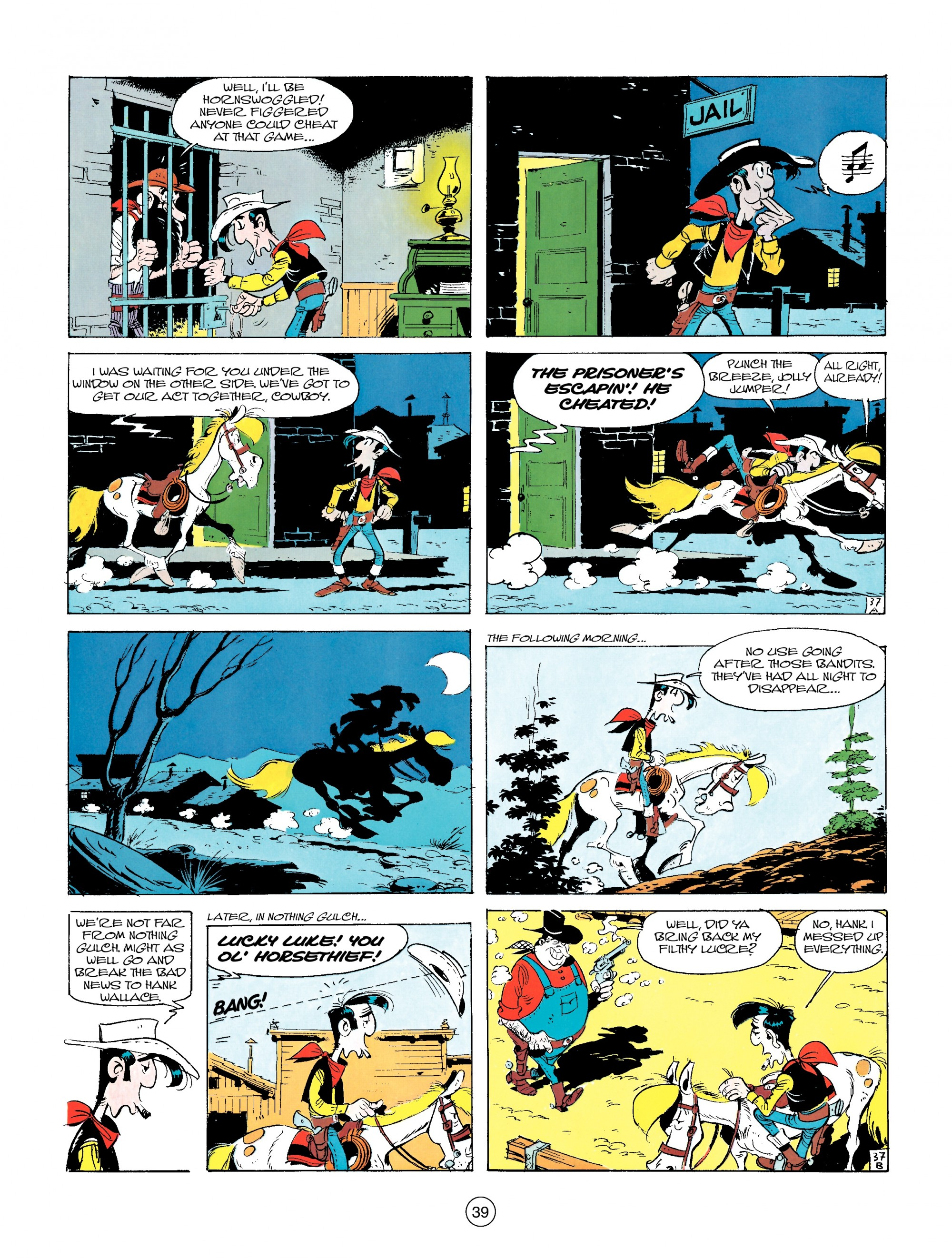 Read online A Lucky Luke Adventure comic -  Issue #14 - 39