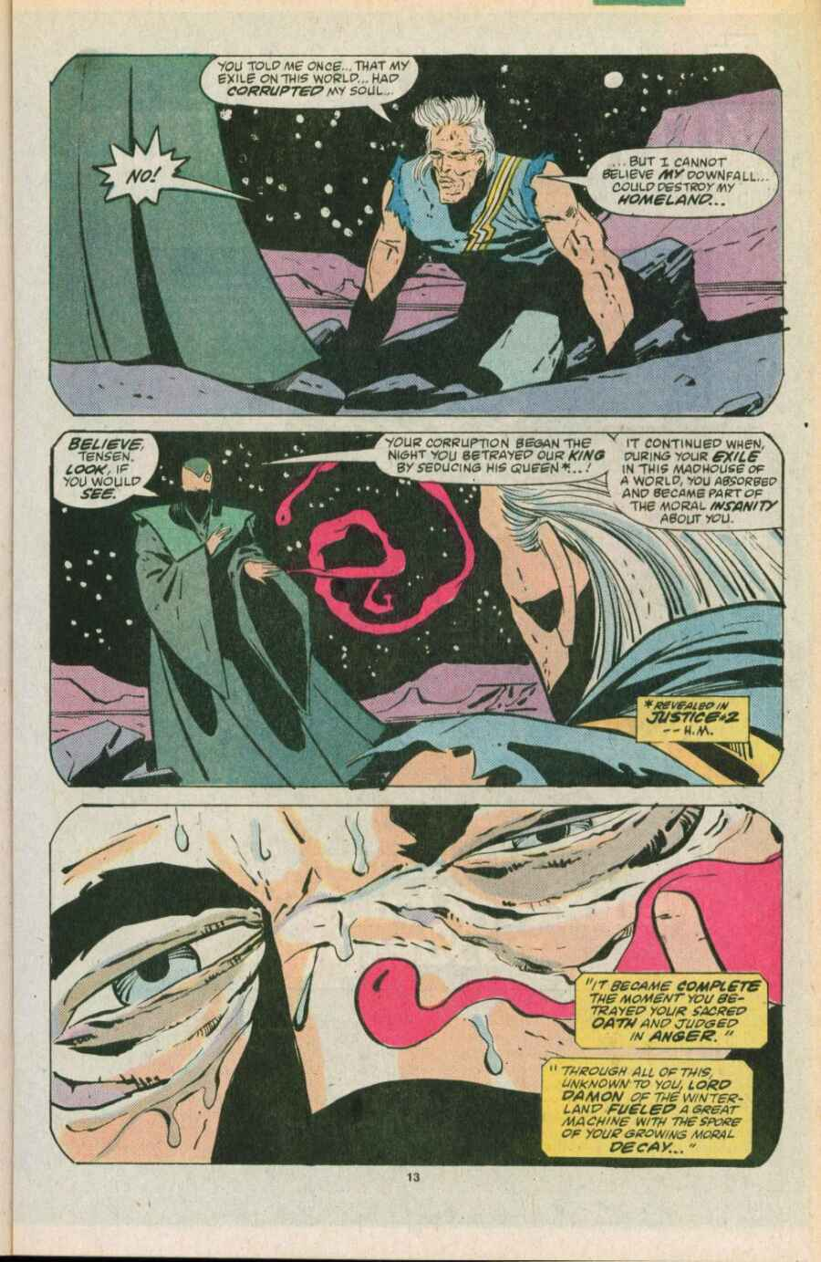Read online Justice (1986) comic -  Issue #11 - 14