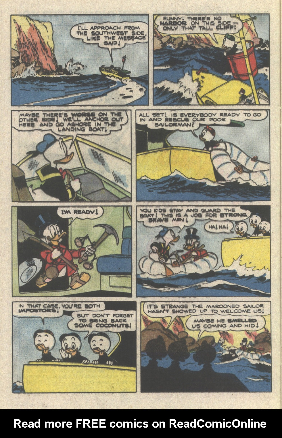 Read online Uncle Scrooge (1953) comic -  Issue #222 - 12