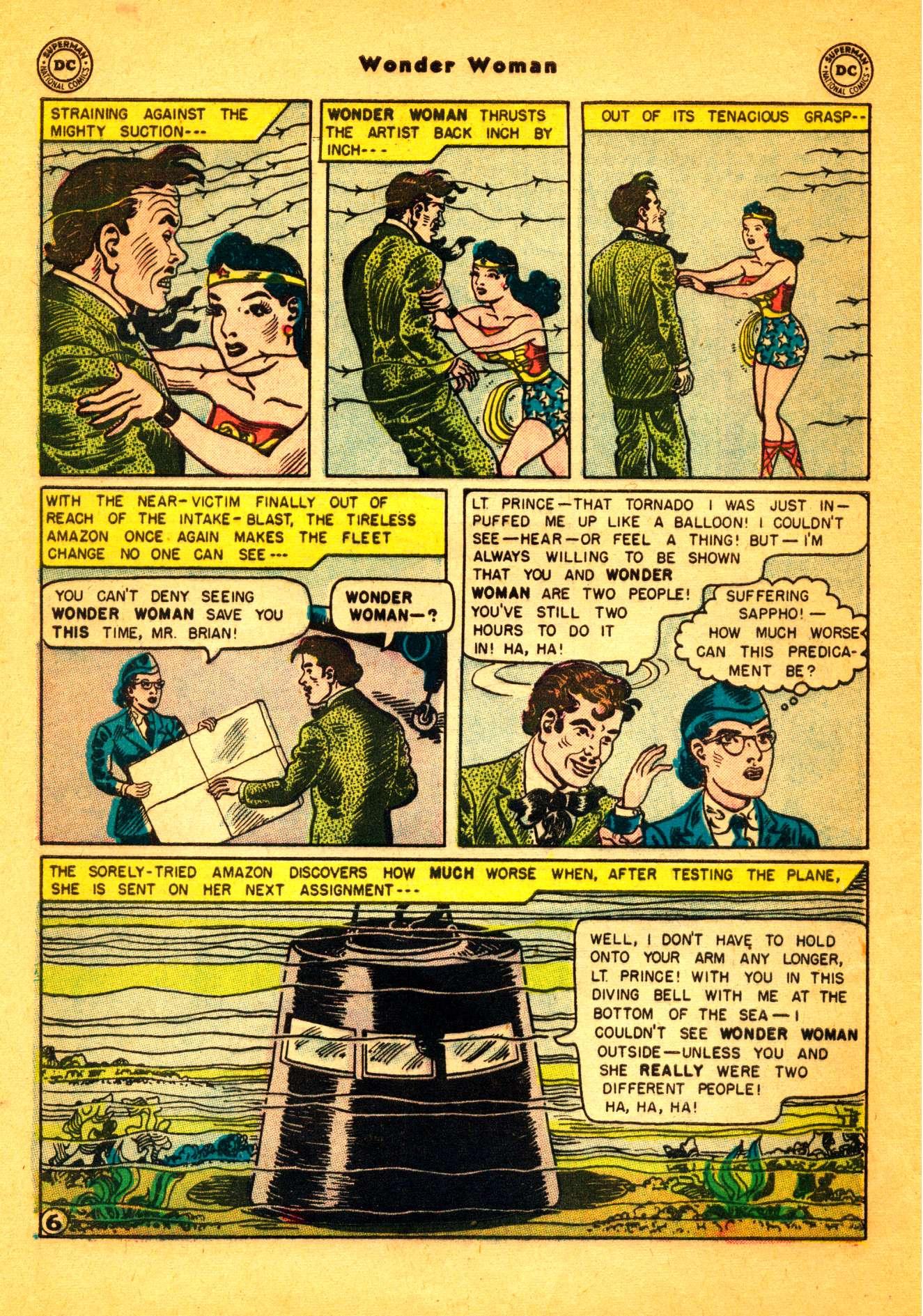 Read online Wonder Woman (1942) comic -  Issue #86 - 7