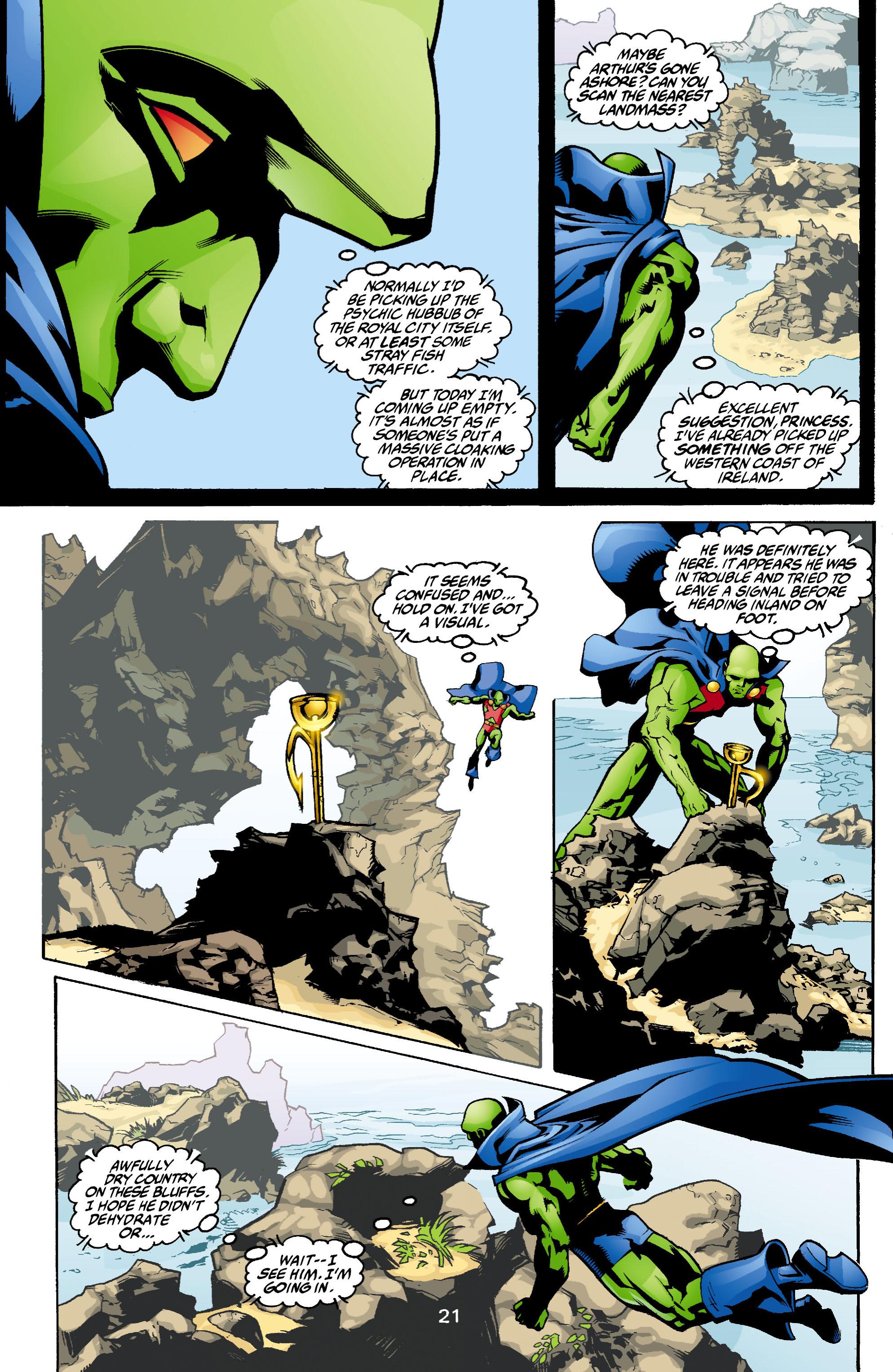 Read online Aquaman (2003) comic -  Issue #1 - 22