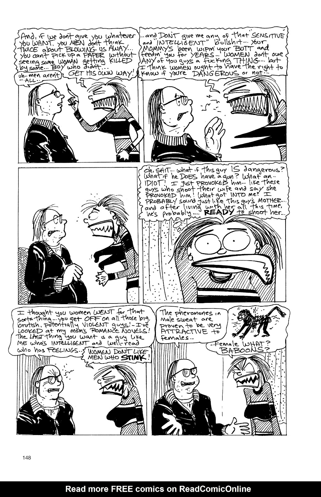 Read online Life's a Bitch: The Complete Bitchy Bitch Stories comic -  Issue # TPB (Part 2) - 45
