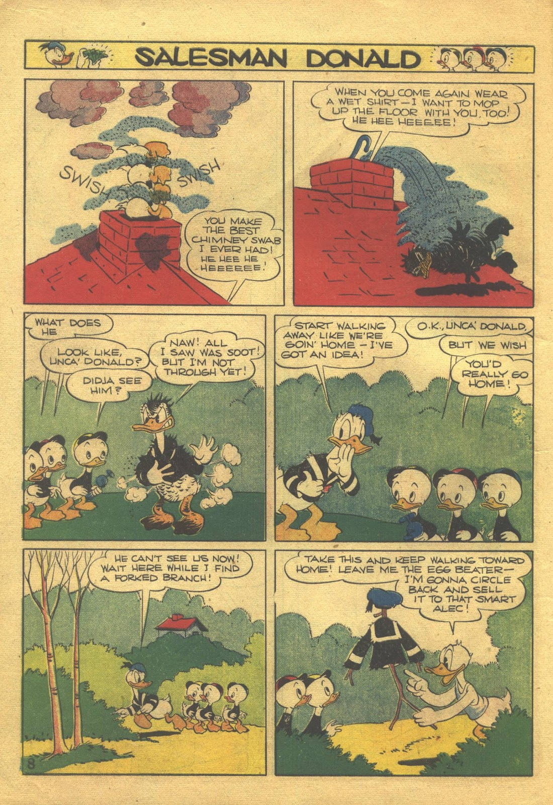 Walt Disney's Comics and Stories issue 39 - Page 10
