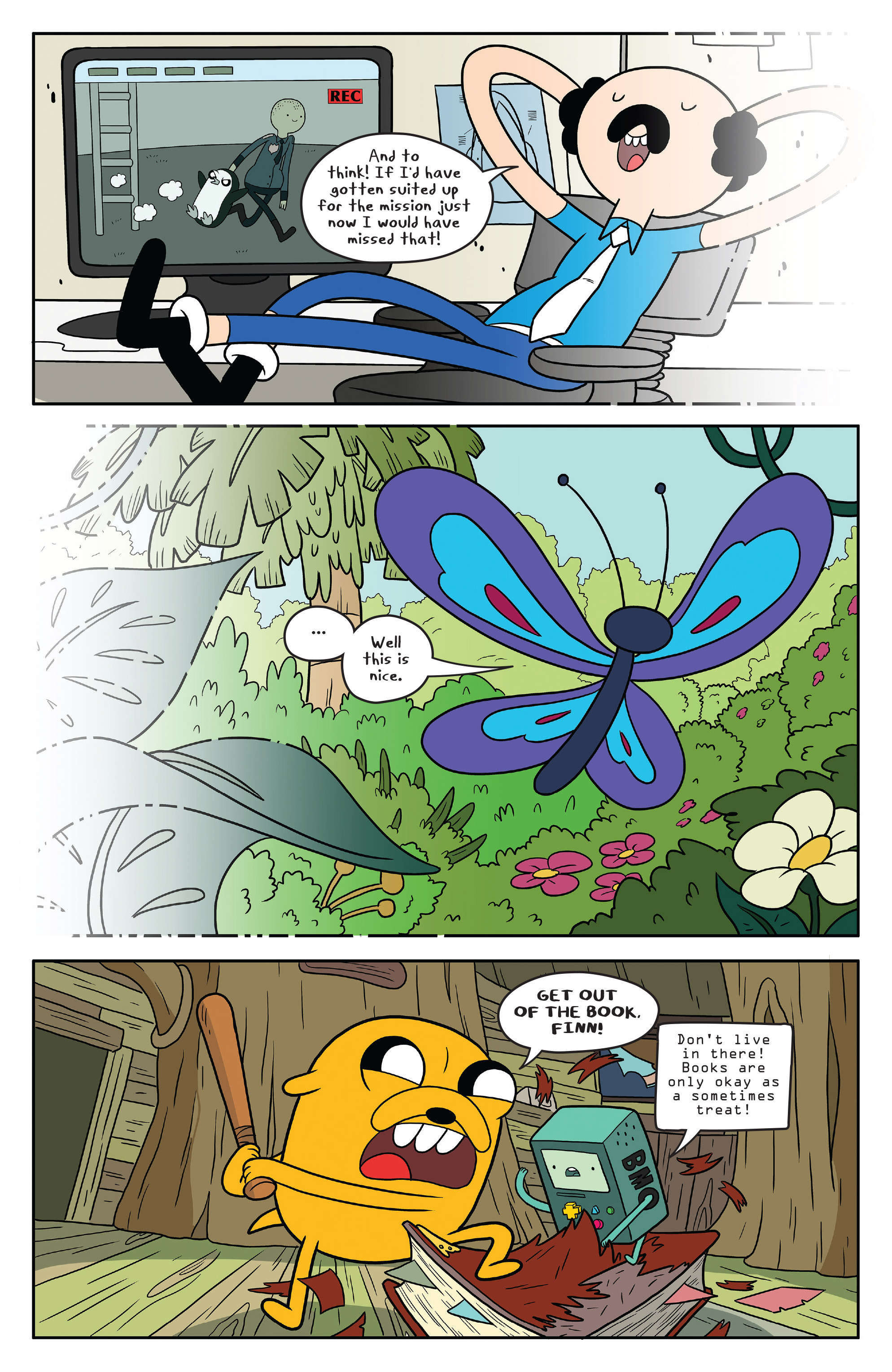 Read online Adventure Time comic -  Issue #50 - 23