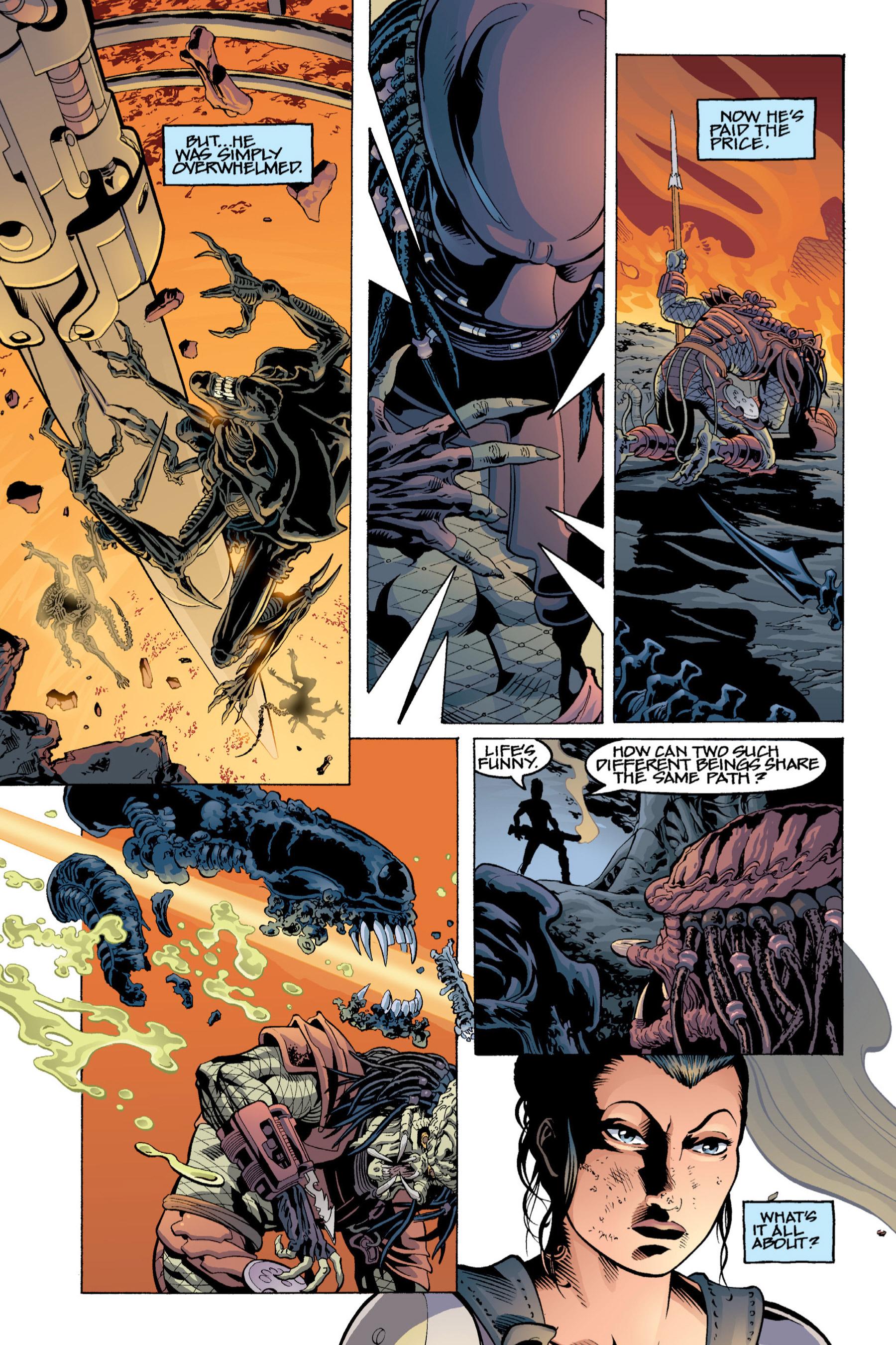 Read online Aliens vs. Predator Omnibus comic -  Issue # _TPB 2 Part 4 - 4