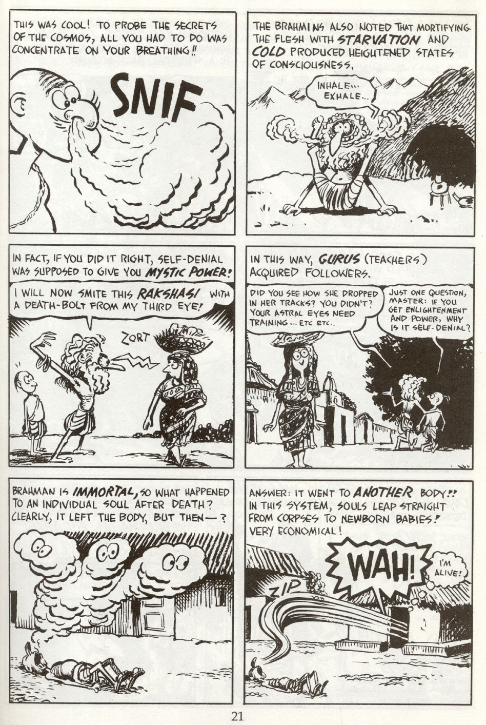 Read online The Cartoon History of the Universe comic -  Issue #8 - 24