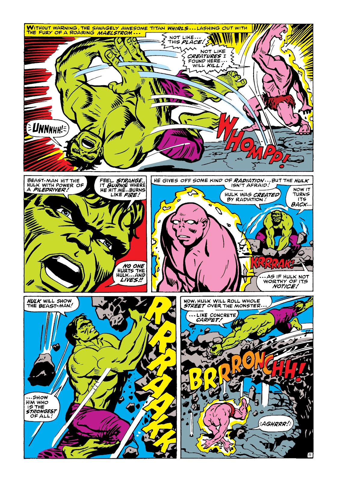 Read online Marvel Masterworks: The Incredible Hulk comic -  Issue # TPB 4 (Part 1) - 60