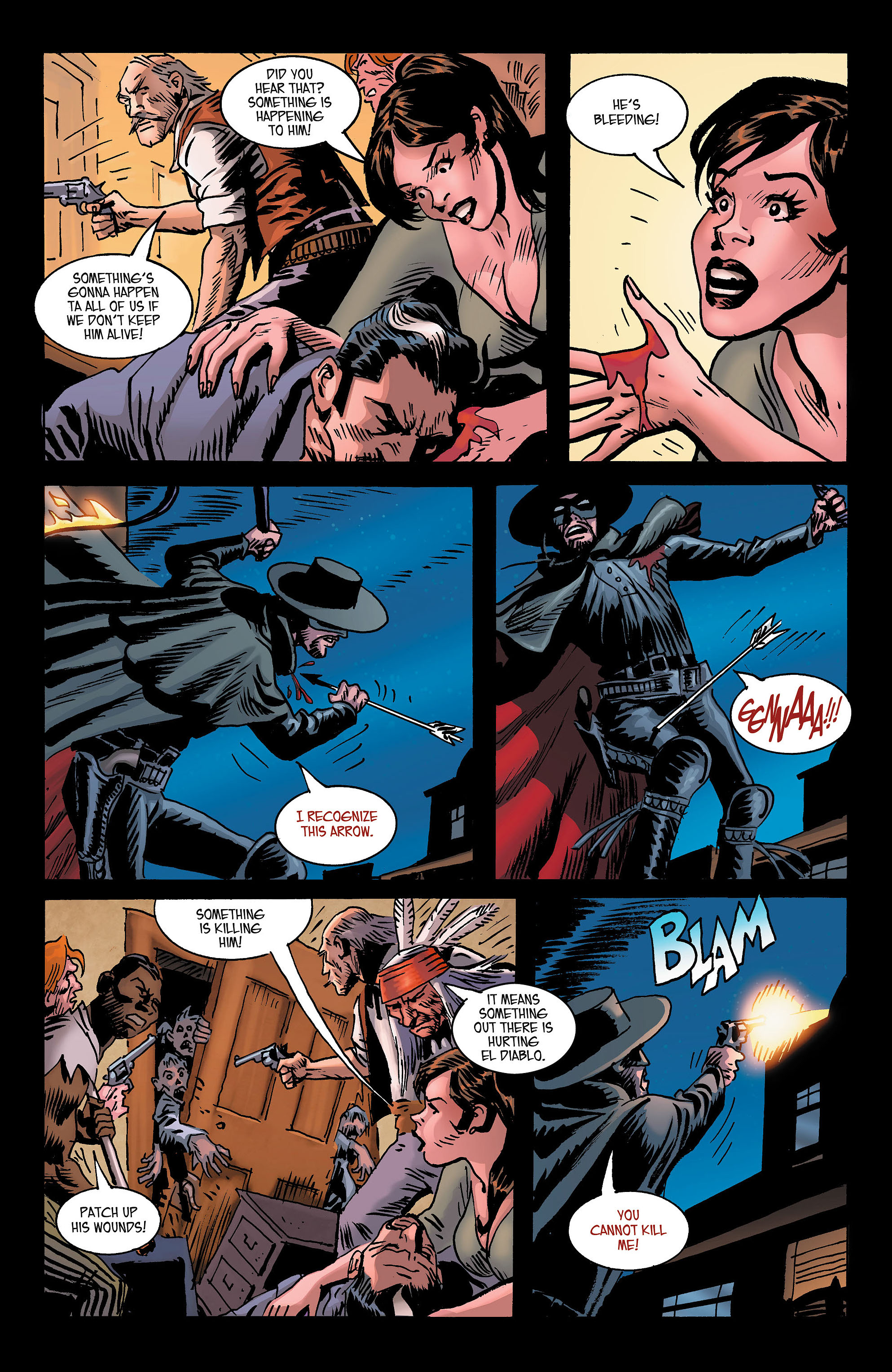 Read online All-Star Western (2011) comic -  Issue #3 - 22