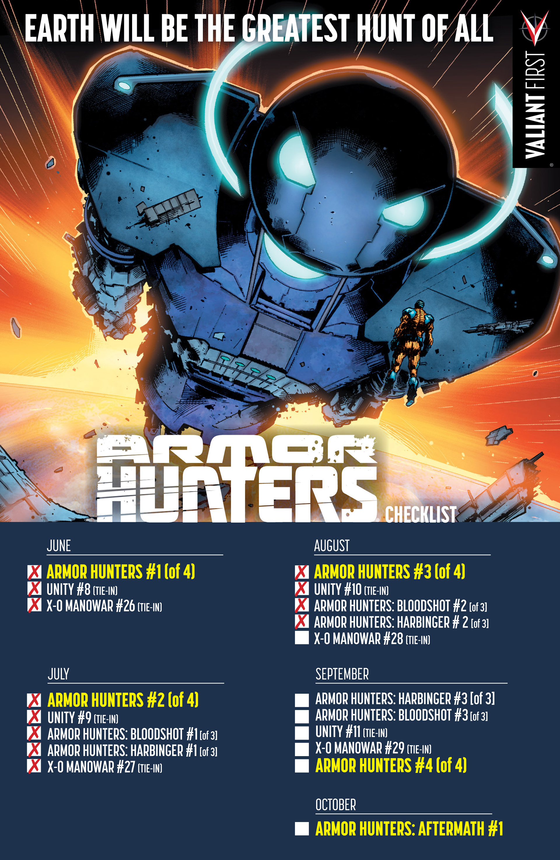 Read online Armor Hunters: Bloodshot comic -  Issue #2 - 31