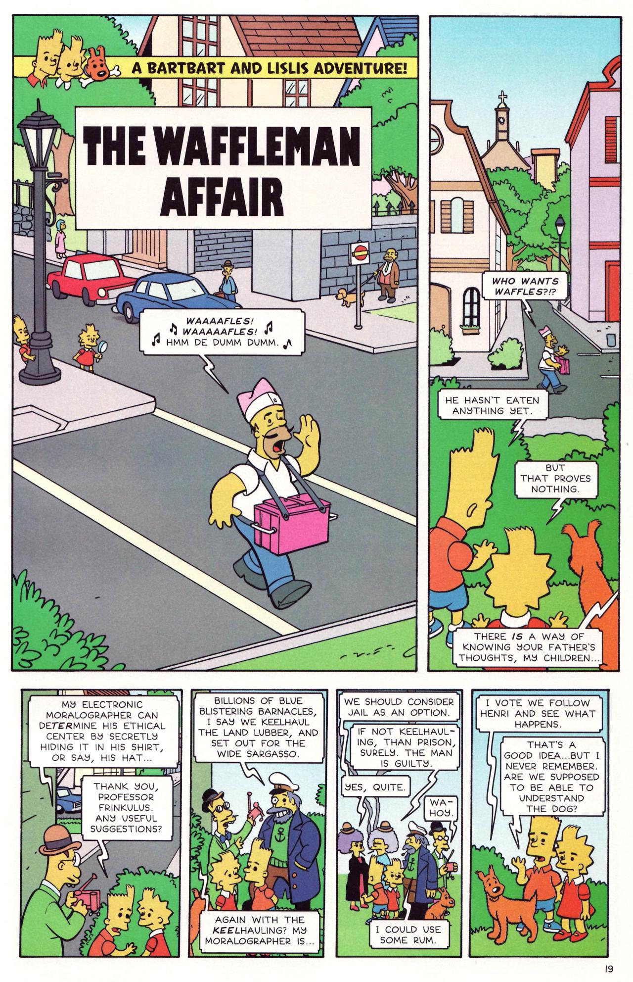 Read online Simpsons Comics comic -  Issue #131 - 16