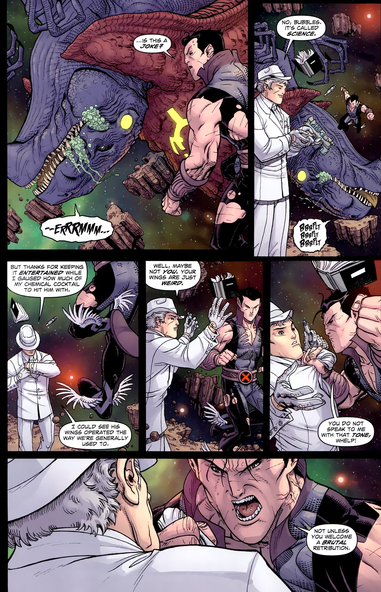 Read online Uncanny X-Men (1963) comic -  Issue # _Annual 3 (2011) - 29