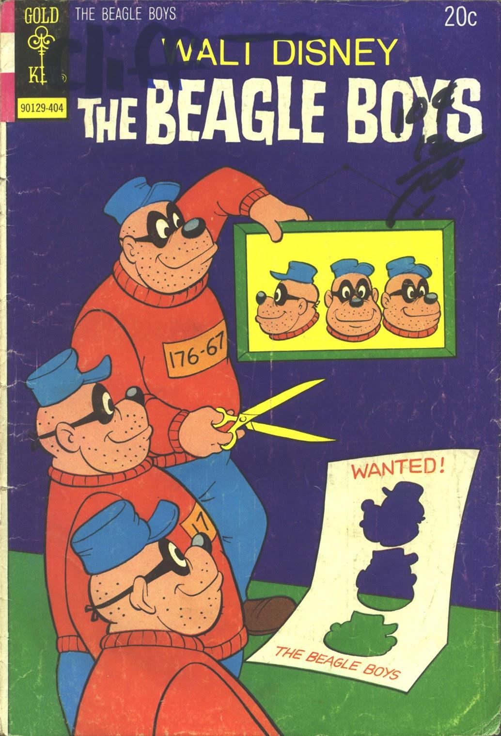 Walt Disney THE BEAGLE BOYS issue 20 - Page 1