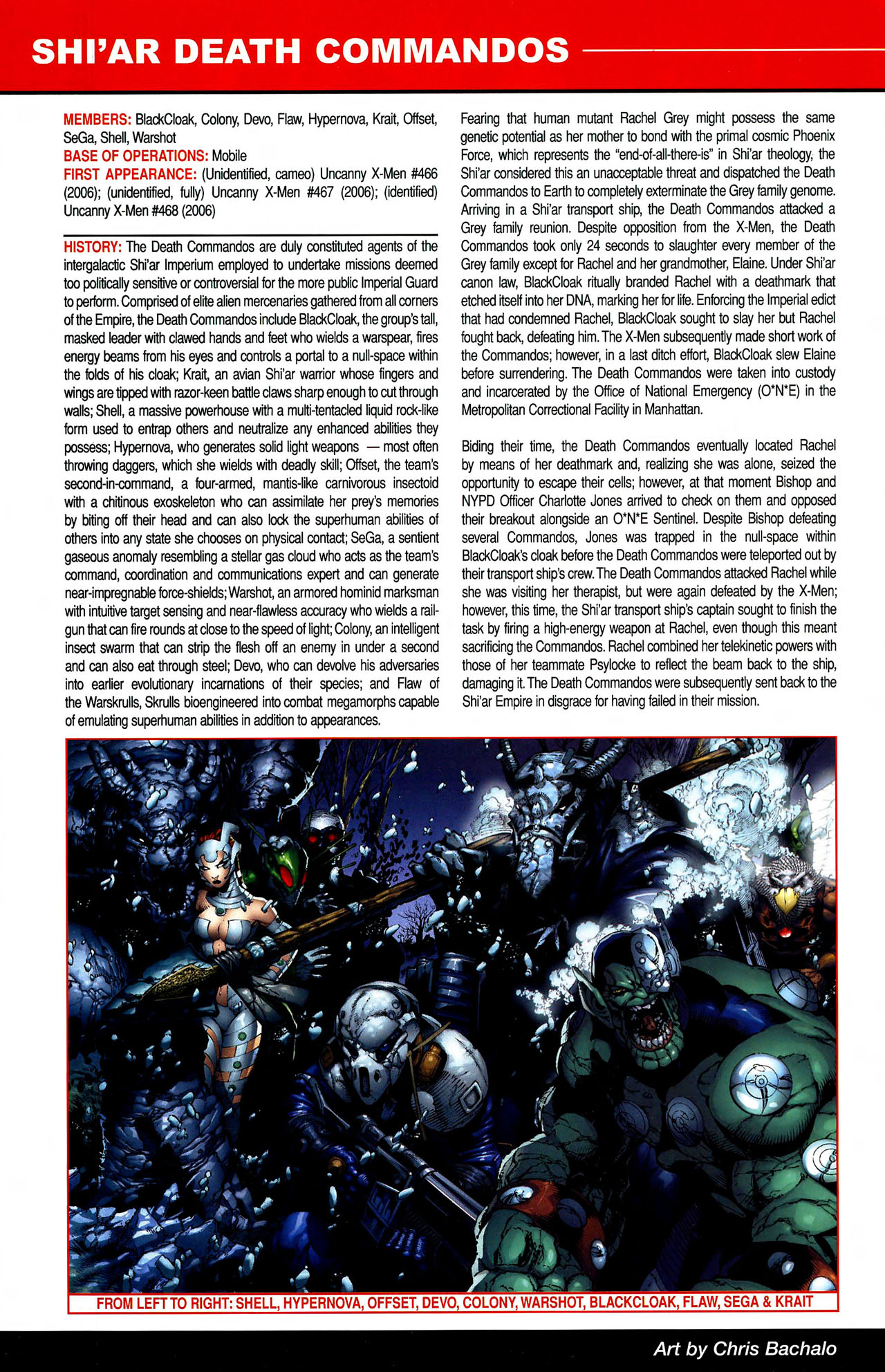 Read online All-New Official Handbook of the Marvel Universe A to Z comic -  Issue #10 - 8