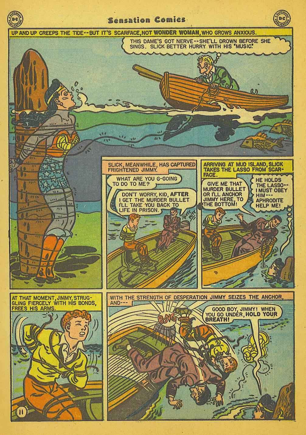 Read online Sensation (Mystery) Comics comic -  Issue #66 - 13