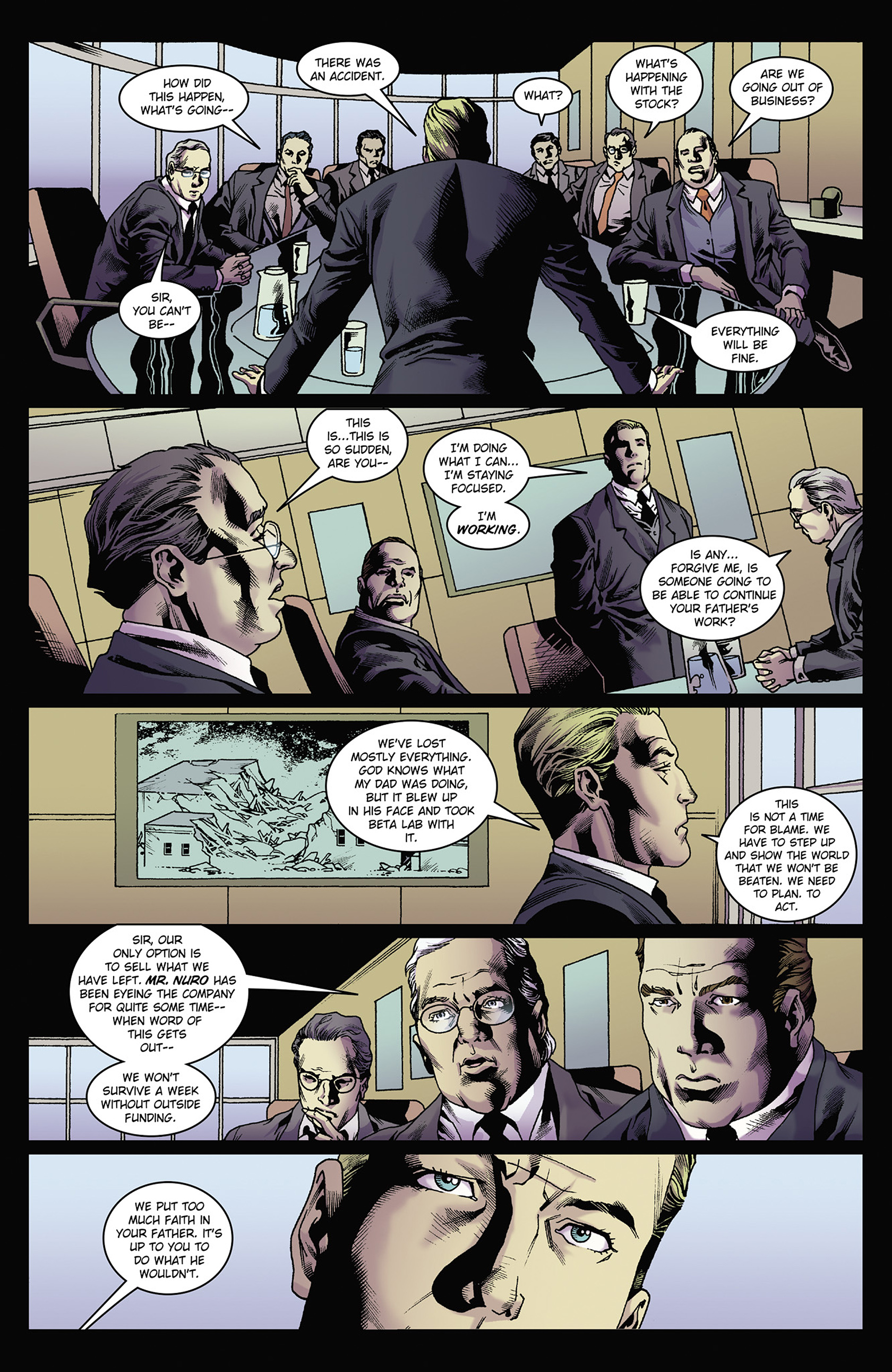 Read online Solar: Man of the Atom (2014) comic -  Issue #2 - 11