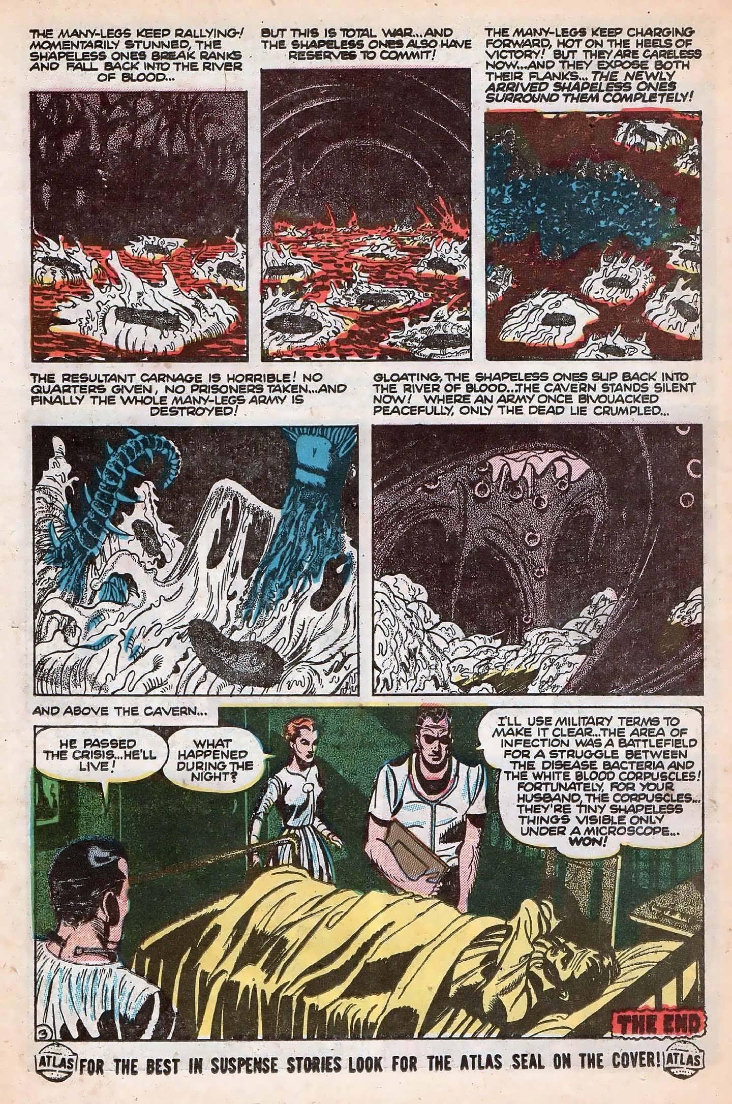 Read online Adventures into Weird Worlds comic -  Issue #20 - 22