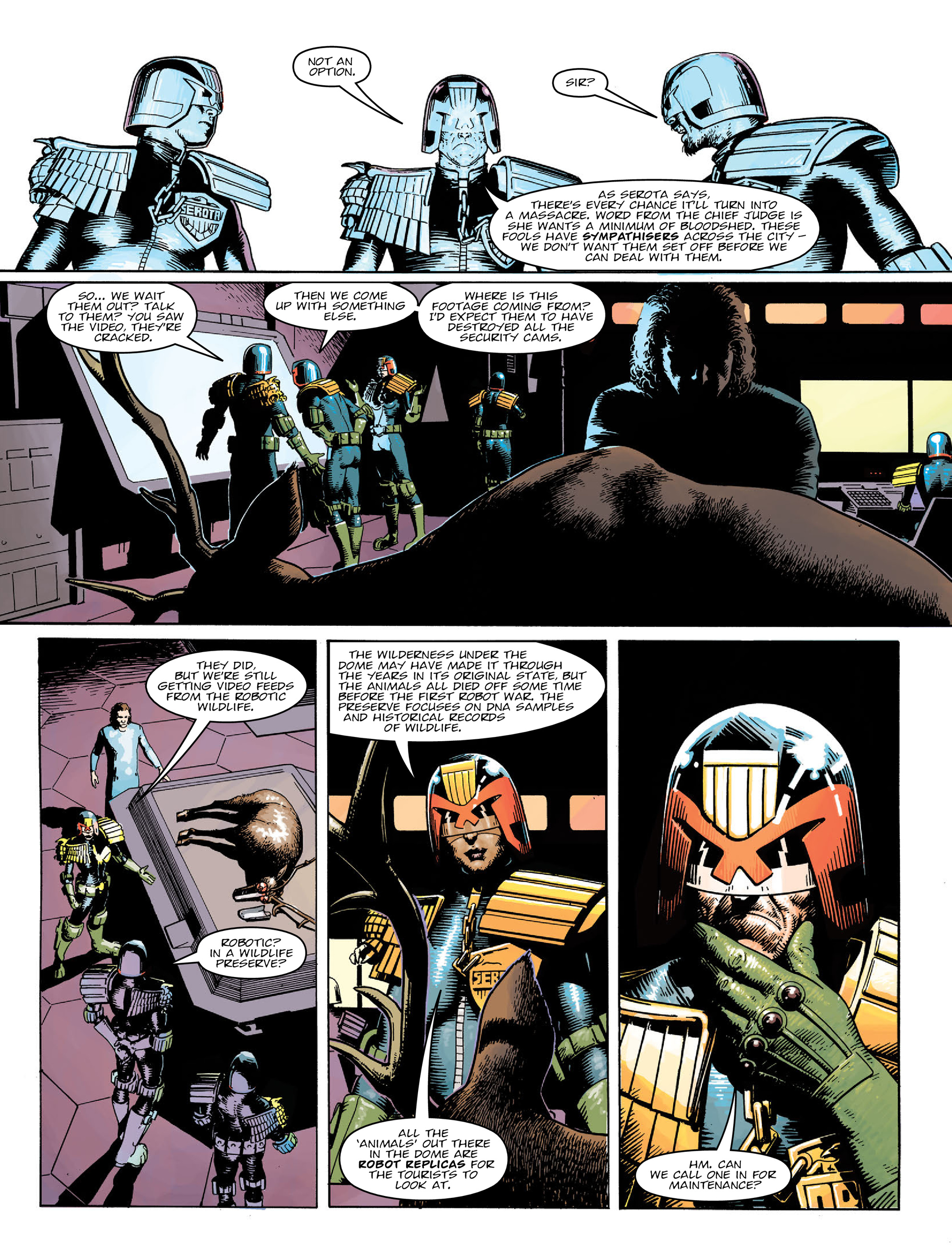 Read online 2000 AD comic -  Issue #2022 - 6