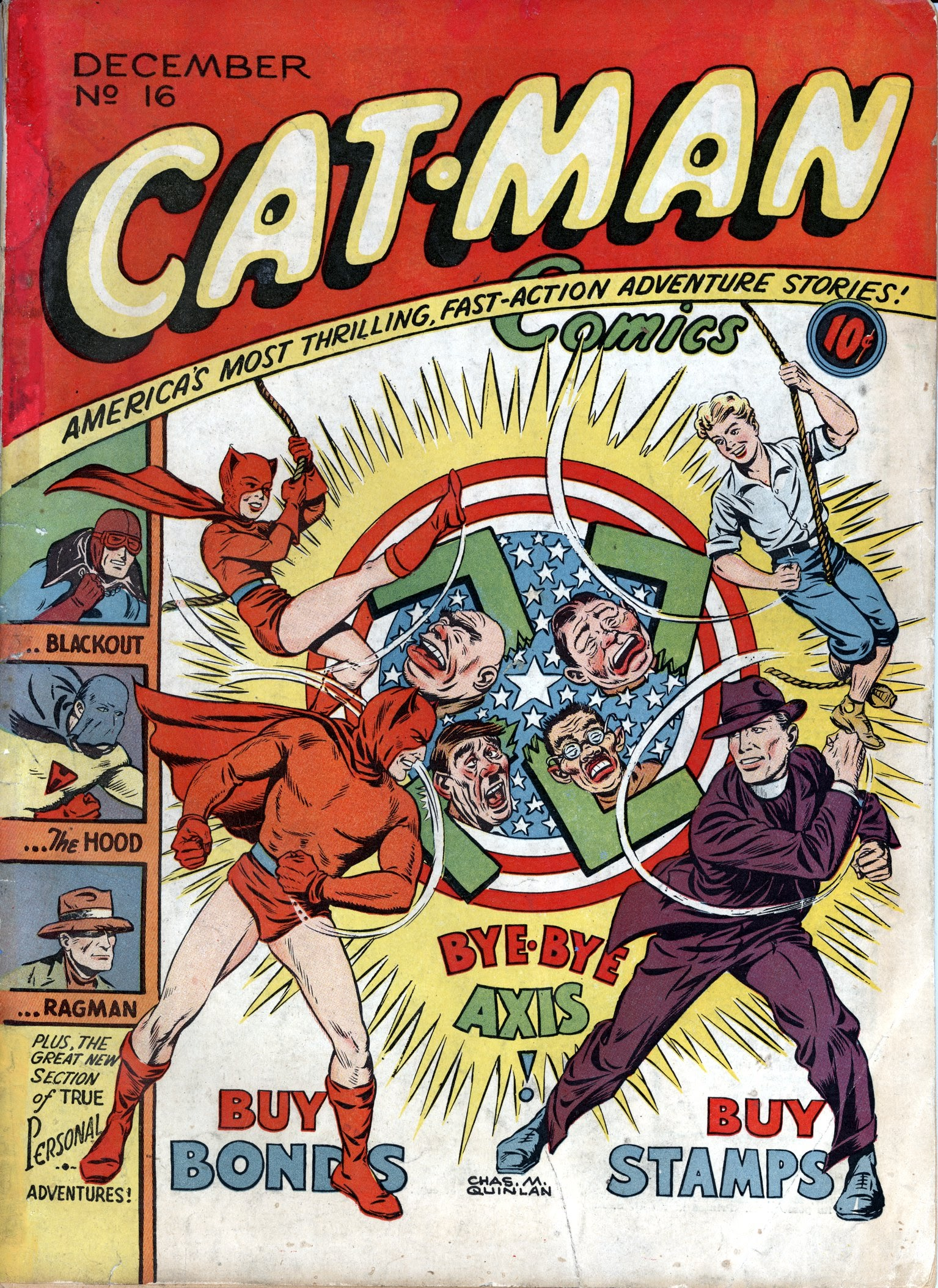 Cat-Man Comics 16 Page 1