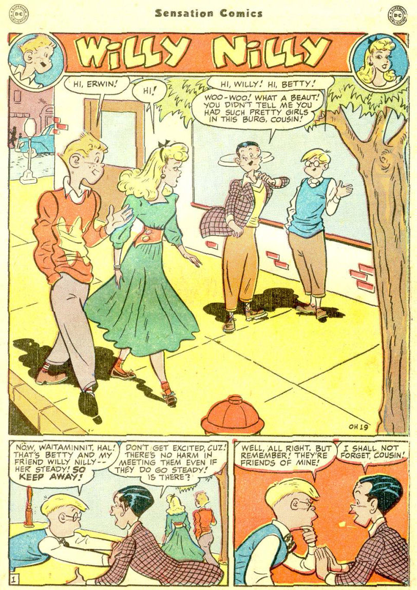 Read online Sensation (Mystery) Comics comic -  Issue #77 - 33
