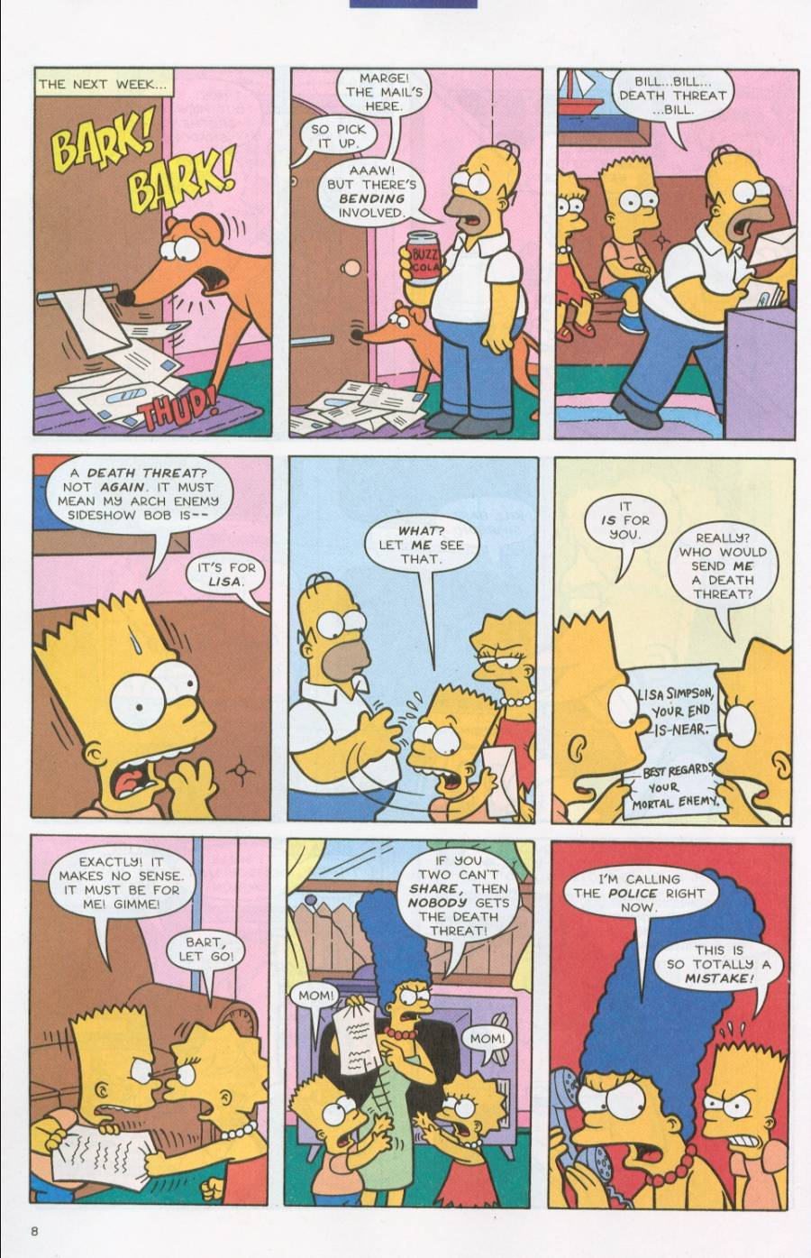 Read online Simpsons Comics comic -  Issue #71 - 9