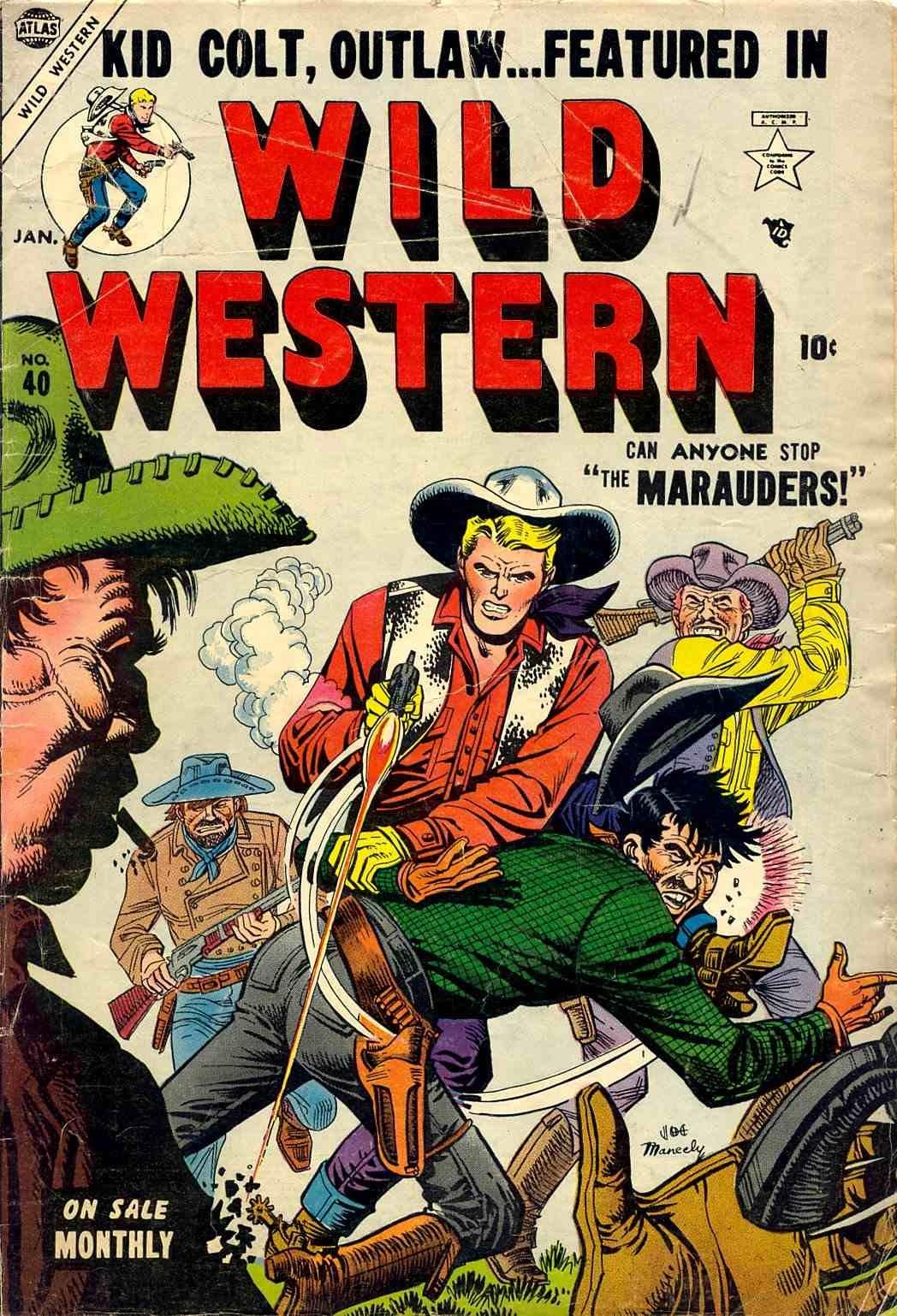Wild Western 40 Page 1