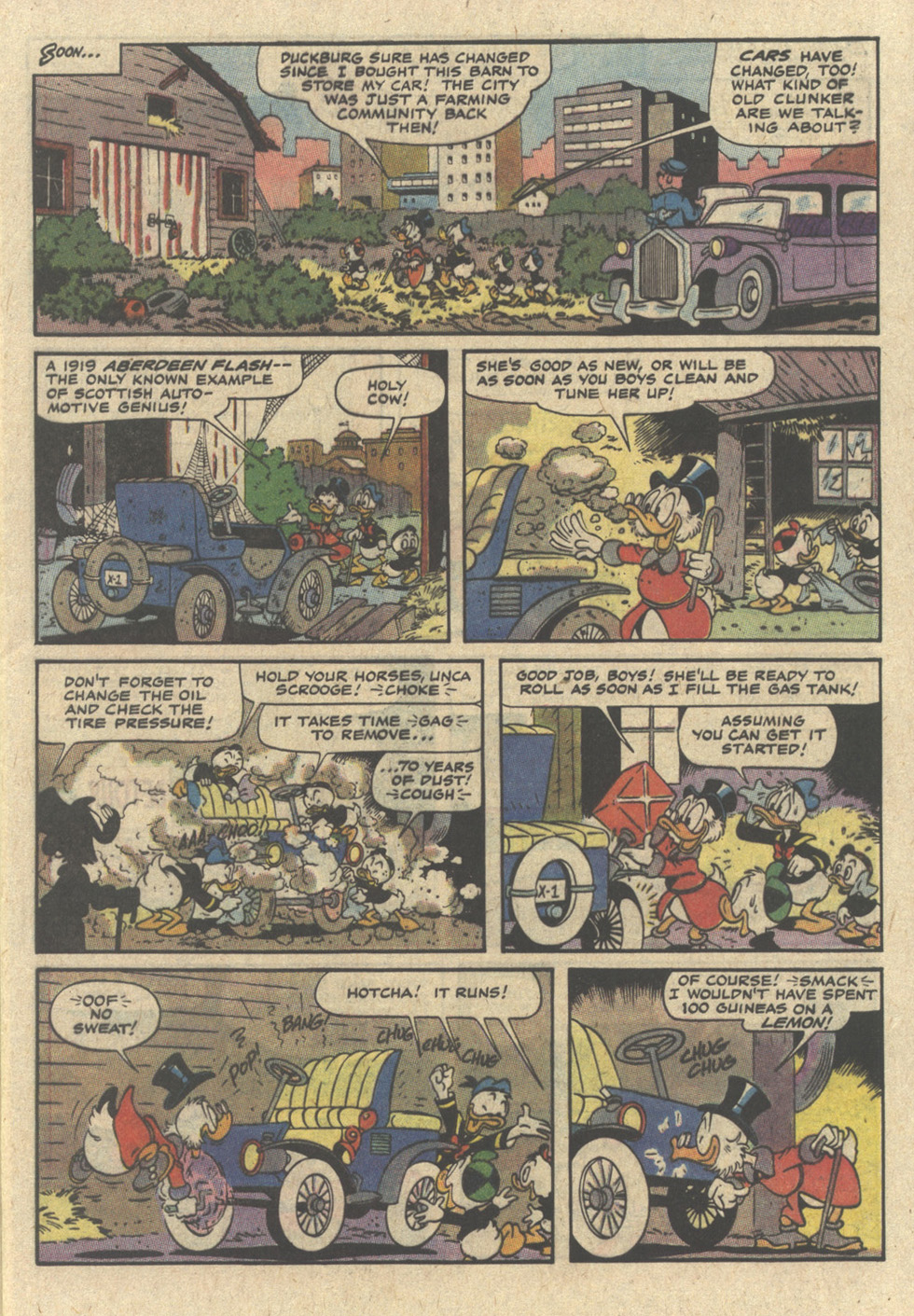 Read online Uncle Scrooge (1953) comic -  Issue #239 - 5