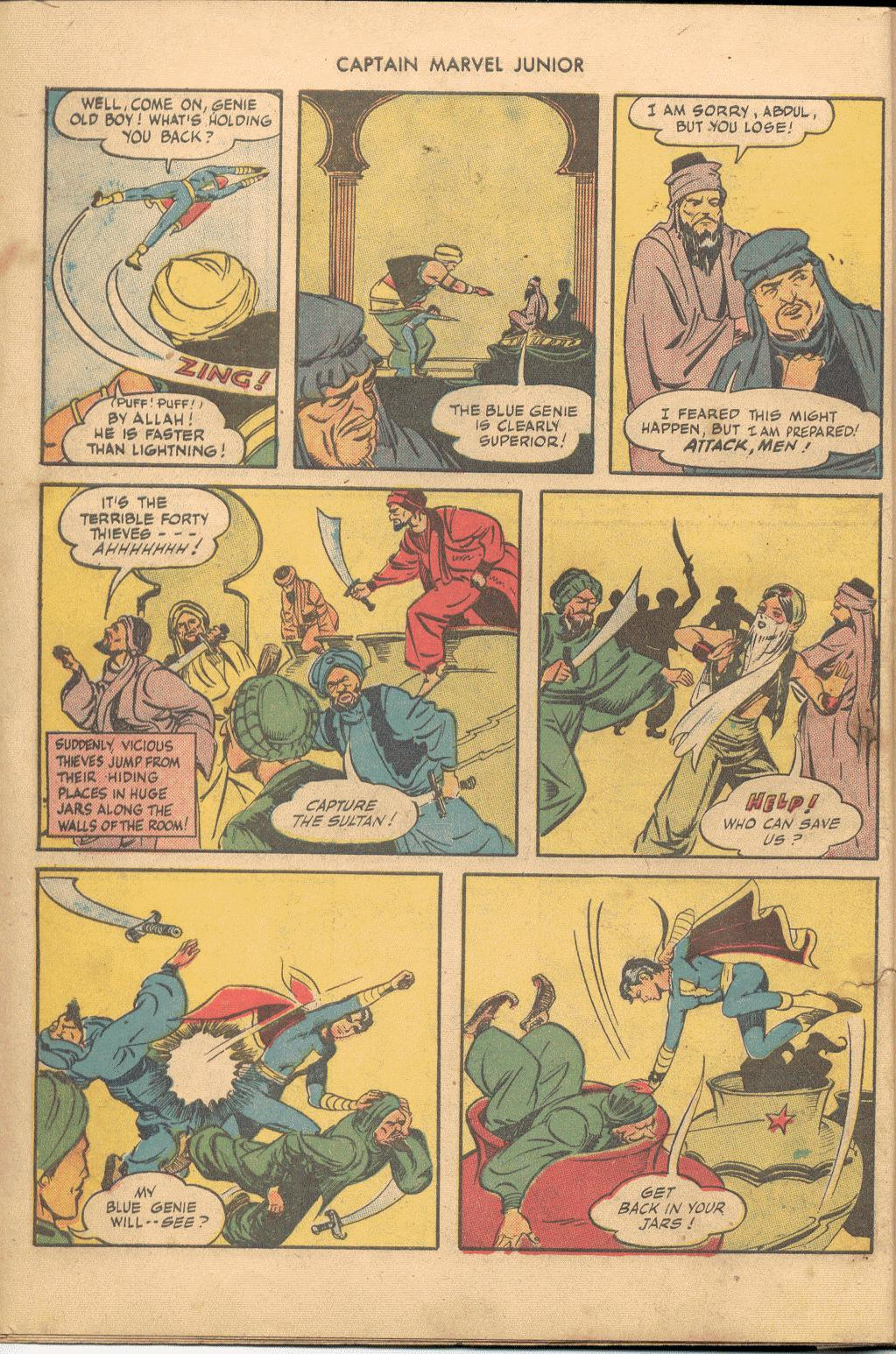 Captain Marvel, Jr. issue 38 - Page 9
