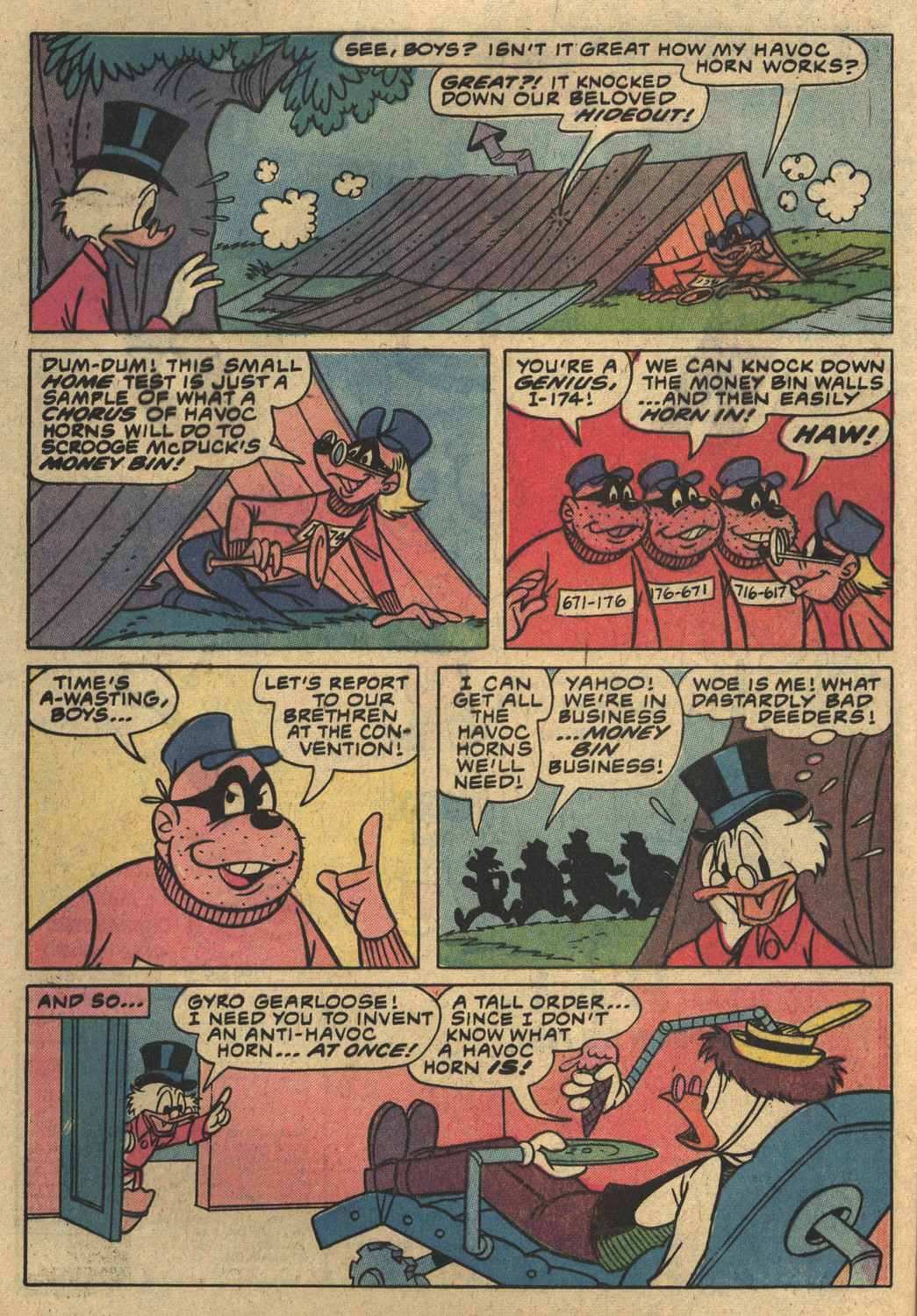 Read online Uncle Scrooge (1953) comic -  Issue #186 - 8