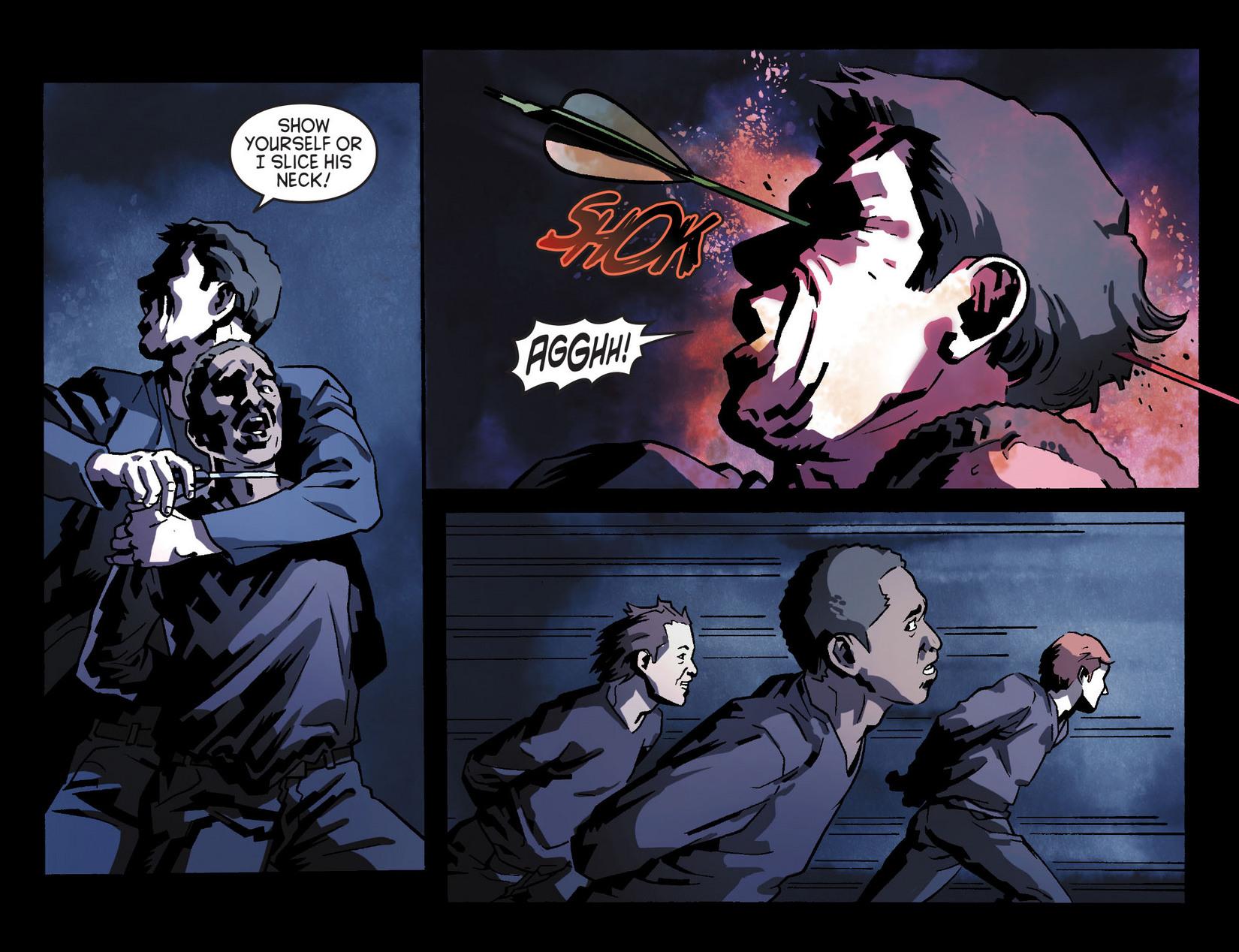 Read online Arrow [II] comic -  Issue #8 - 14