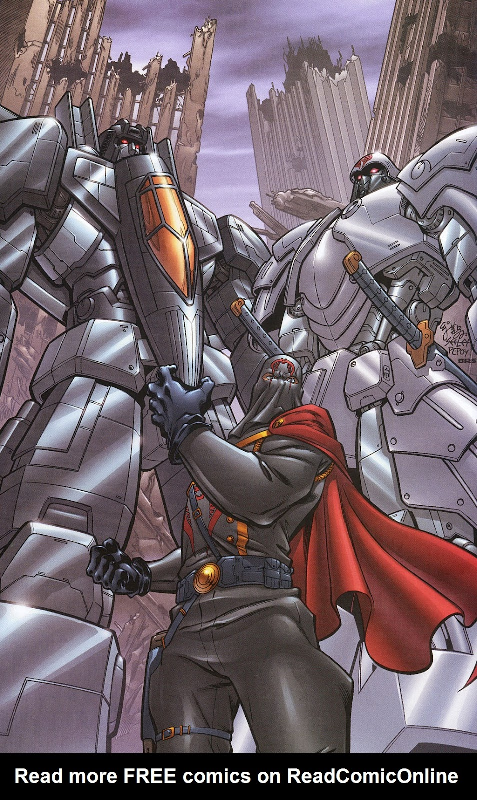 G.I. Joe vs. The Transformers II Issue #0 #1 - English 19