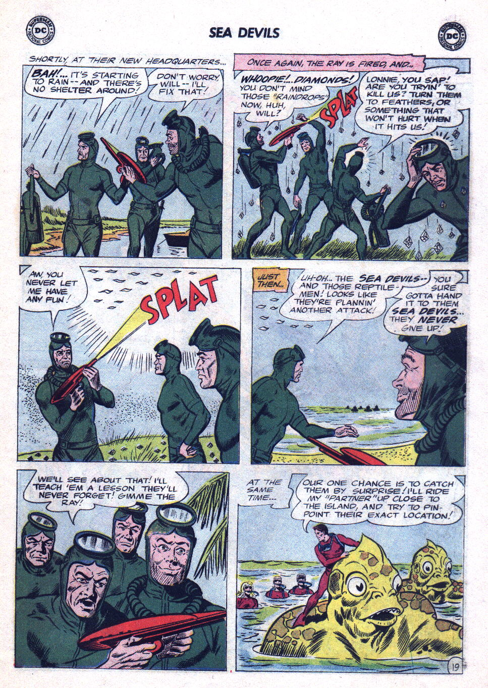 Read online Sea Devils comic -  Issue #20 - 27
