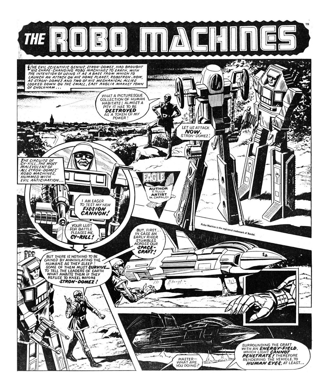 Read online Robo Machines comic -  Issue # TPB - 15