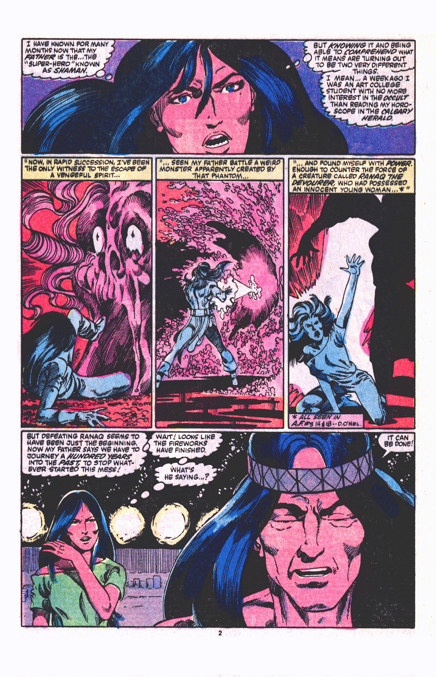 Read online Alpha Flight (1983) comic -  Issue #19 - 3