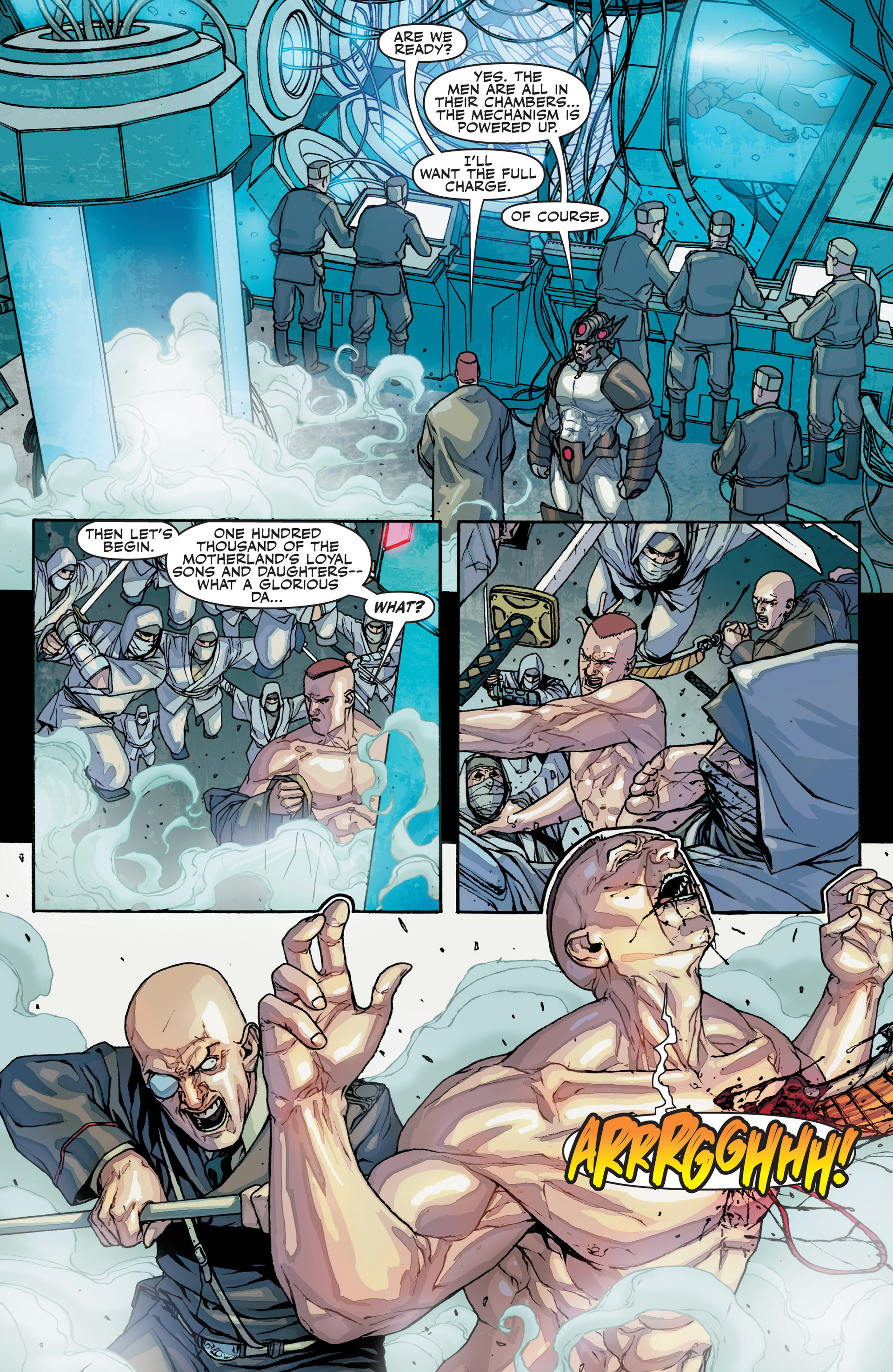 Read online Secret Warriors comic -  Issue #25 - 28