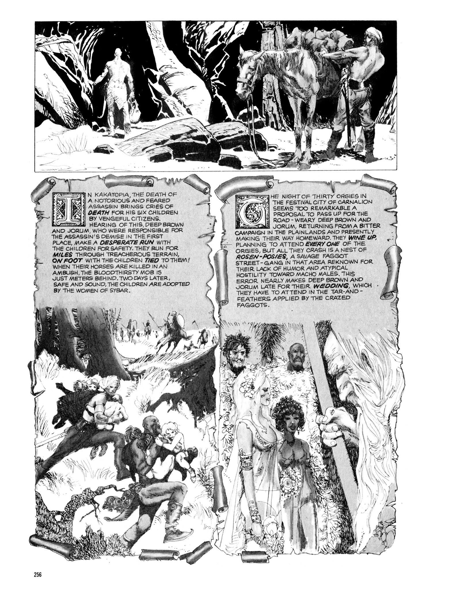 Read online Eerie Archives comic -  Issue # TPB 14 - 257