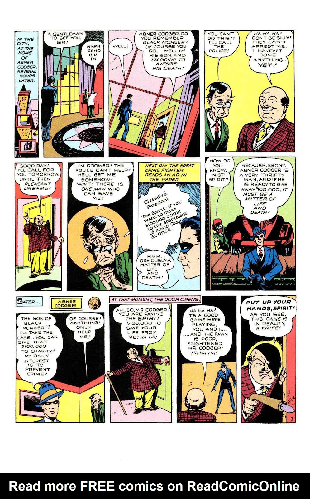 Read online Will Eisner's The Spirit Archives comic -  Issue # TPB 1 (Part 1) - 81