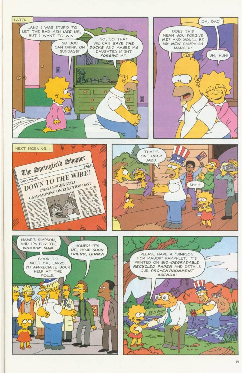 Read online Simpsons Comics comic -  Issue #58 - 20