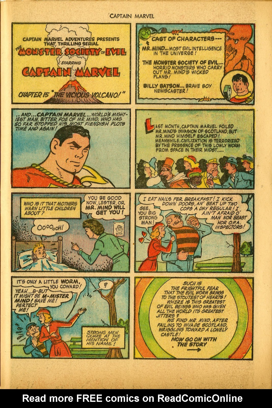 Captain Marvel Adventures issue 36 - Page 41