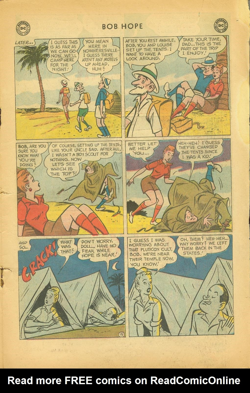 The Adventures of Bob Hope issue 64 - Page 19