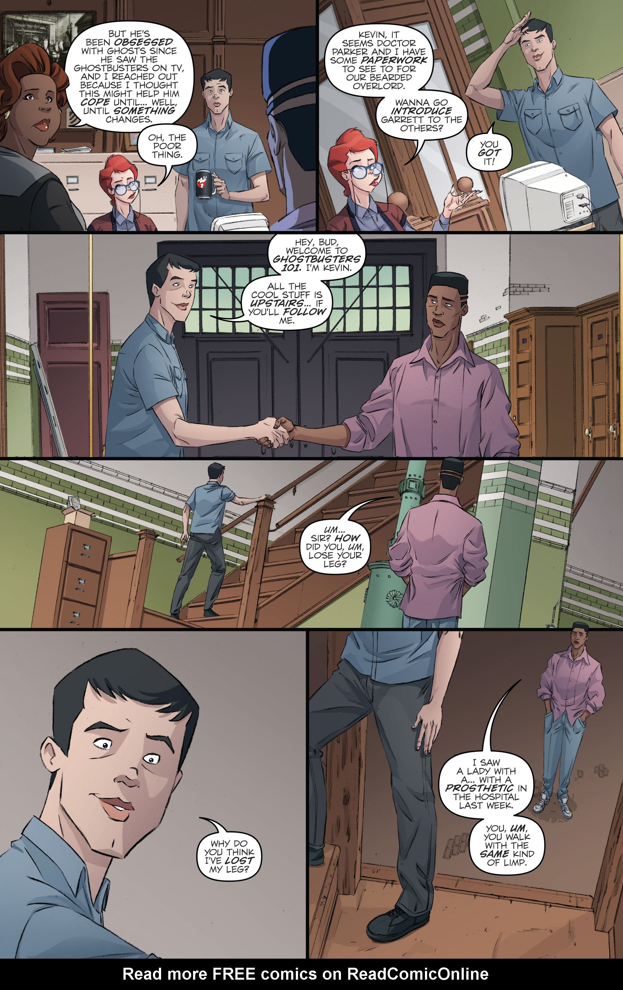 Read online Ghostbusters 101 comic -  Issue #2 - 15