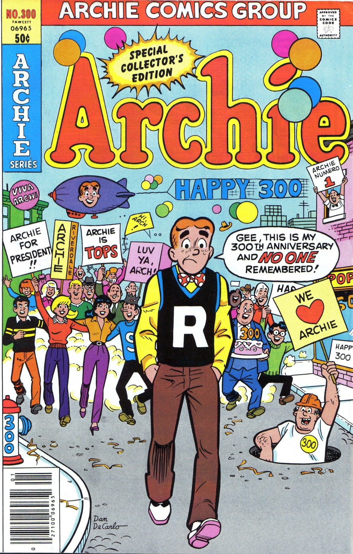 Read online Archie (1960) comic -  Issue #300 - 1