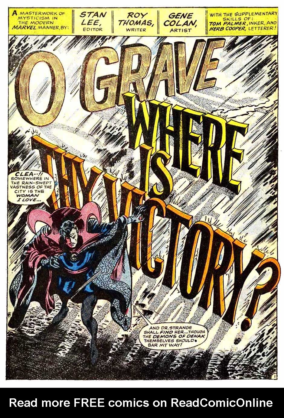 Doctor Strange (1968) issue 176 - Page 2