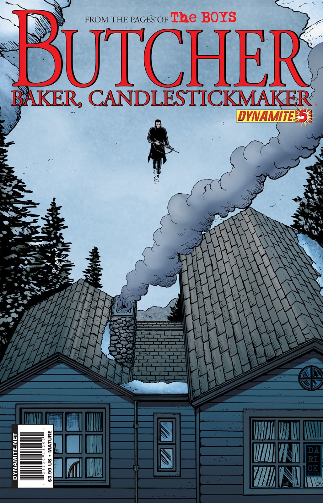 Read online The Boys: Butcher, Baker, Candlestickmaker comic -  Issue #5 - 1