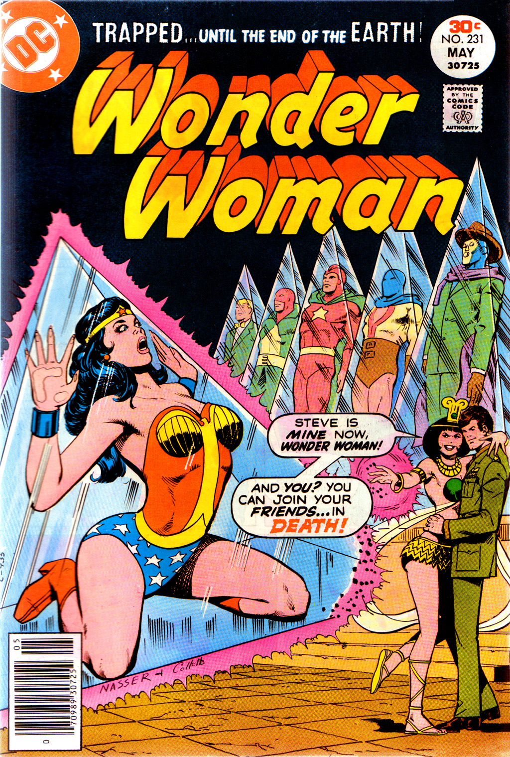 Read online Wonder Woman (1942) comic -  Issue #231 - 1