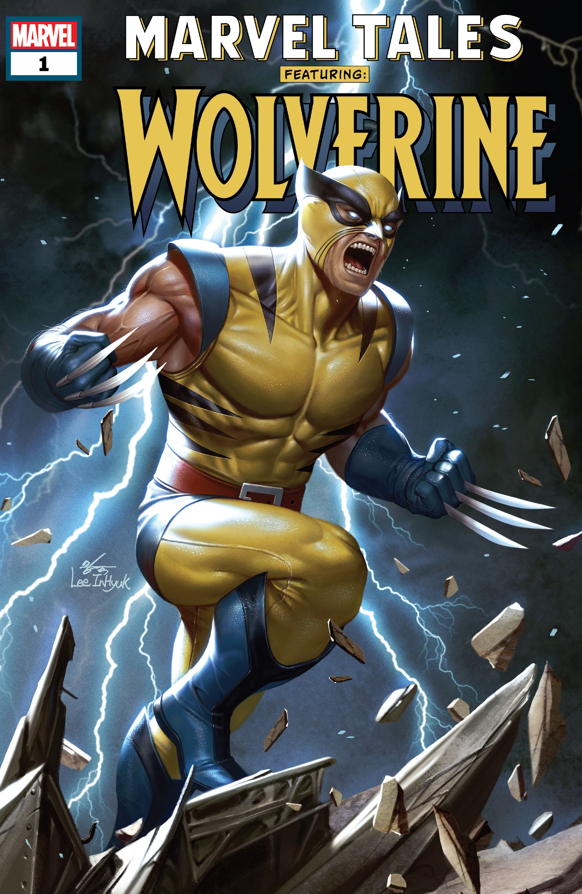 Marvel Tales (2019) Wolverine Page 1