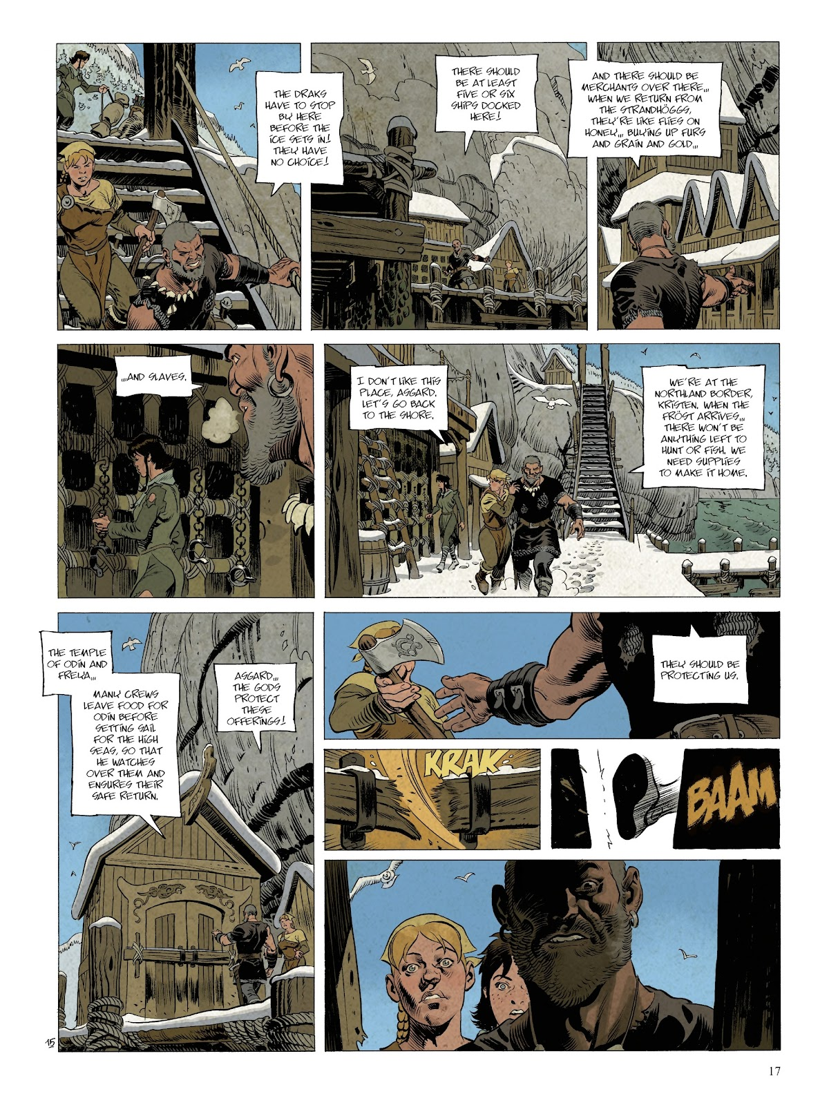 Read online Asgard comic -  Issue #2 - 19